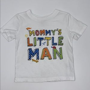 Other - Mommy's little man shirt